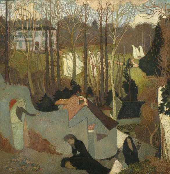 Easter Mystery, Mystère de Pâques, 1891 (oil on canvas)