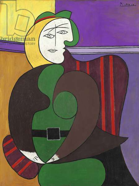 The Red Armchair, 1931 (oil on canvas)