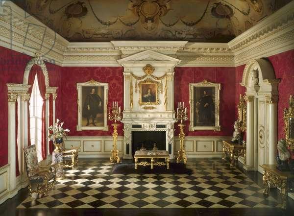 E-3: English Reception Room of the Jacobean Period, 1625-55, c.1937 (mixed media)