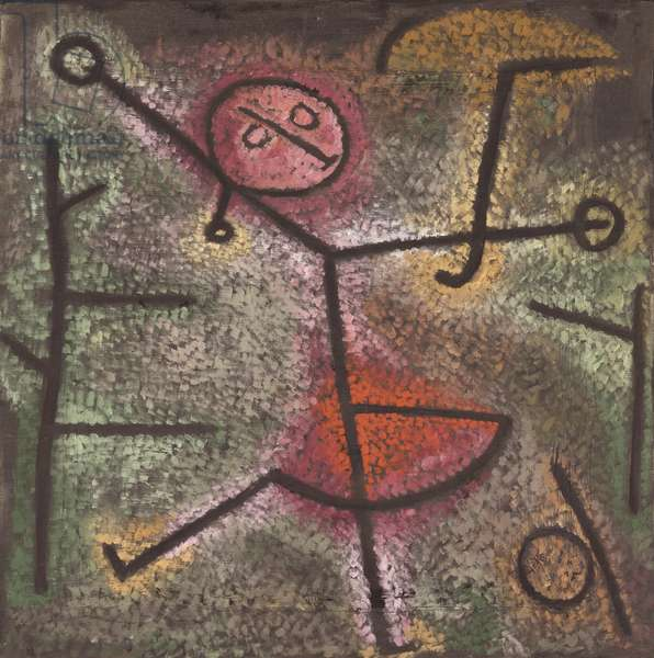 Dancing Girl, 1940 (oil on cloth)