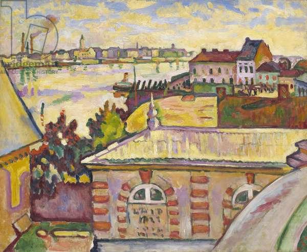 Antwerp, 1906 (oil on canvas)