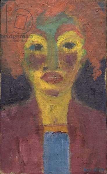 Red-Haired Girl, 1919 (oil on canvas)