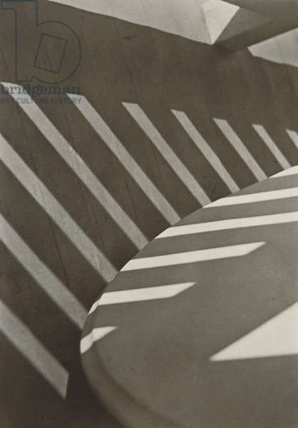 Porch Shadows, 1916 (platinum-silver print)