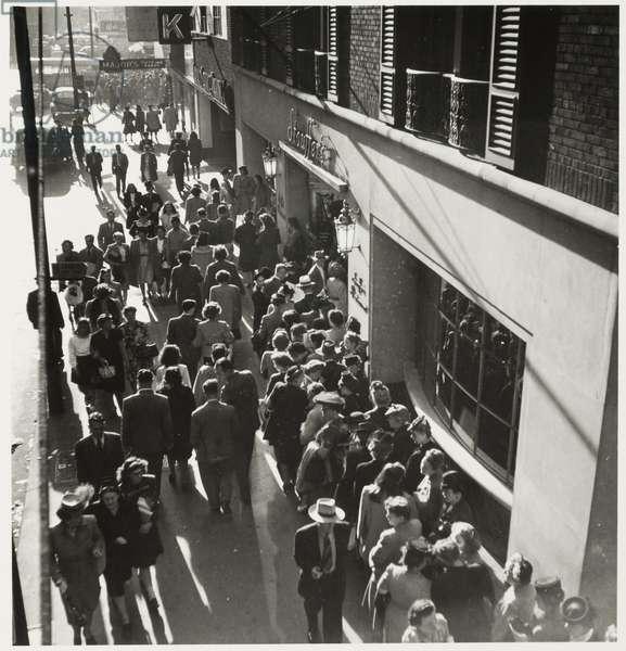 Randolph Street, Chicago, c.1946 (gelatin silver print)