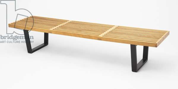 Platform Bench, designed 1946 (birch)