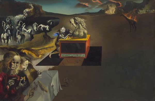 Inventions of the Monsters, 1937 (oil on canvas)