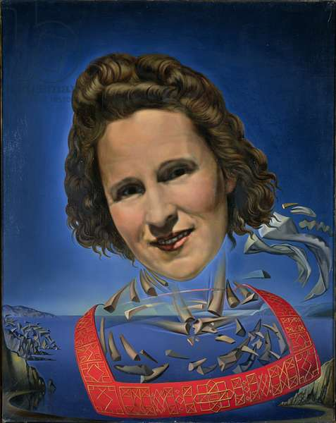 Portrait of Gala with Rhinocerotic Attributes, 1954 (oil on canvas)
