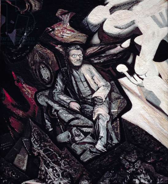 Portrait of Jose Clemente Orozco (1883-1949) 1947 (oil on canvas)