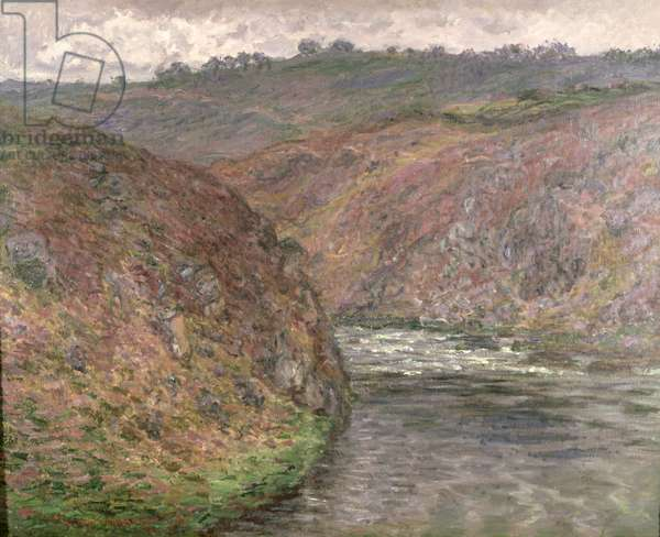 The Creuse, Dark weather, 1889 (oil on canvas)