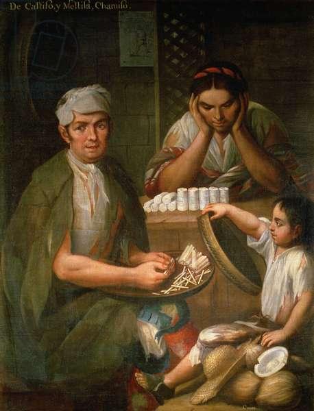 Race (oil on canvas)