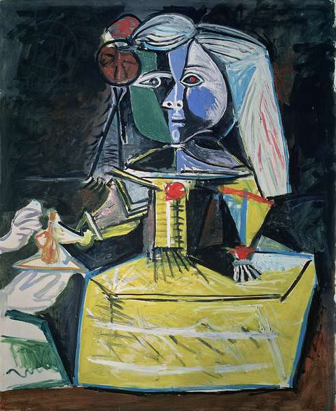 Las Meninas (Infanta Margarita Maria) 1957 (oil on canvas)