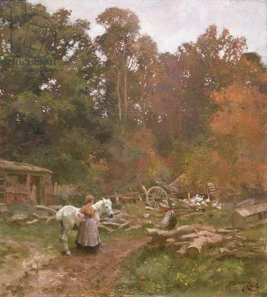 Landscape at Crostwick, c.1905