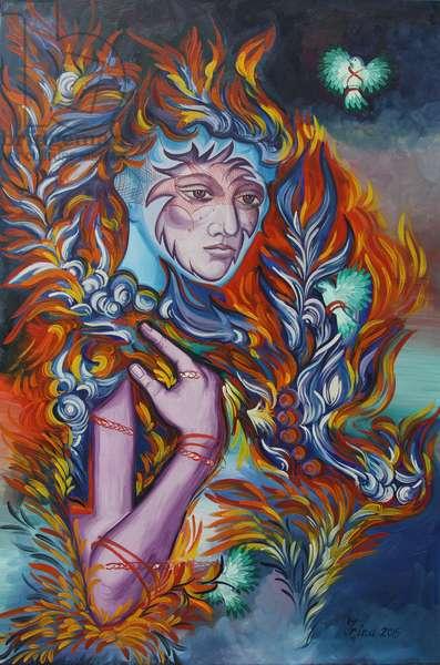 Dragon Nest, 2015 (oil on canvas)