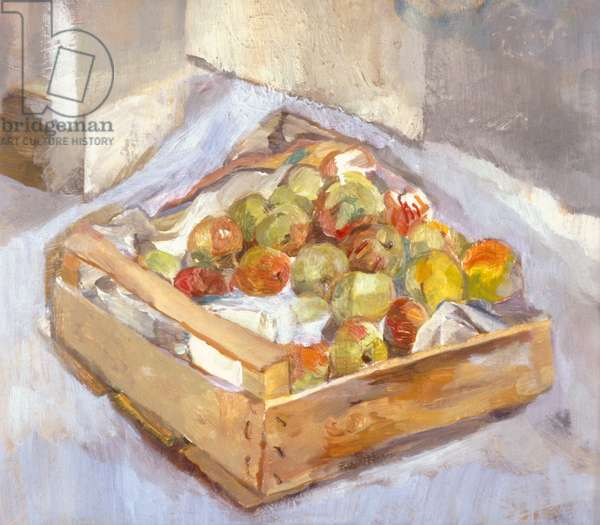 Box of Apples, 1998 (oil on canvas)