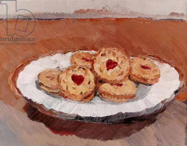 Jammie Dodgers, 2000 (oil on canvas)