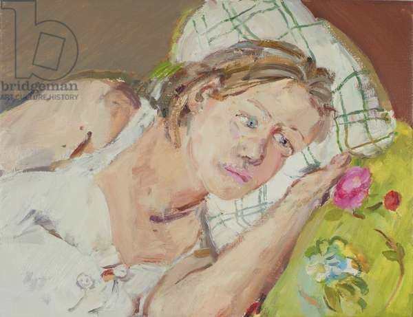 Diana Pregnant, 2005 (oil on canvas)