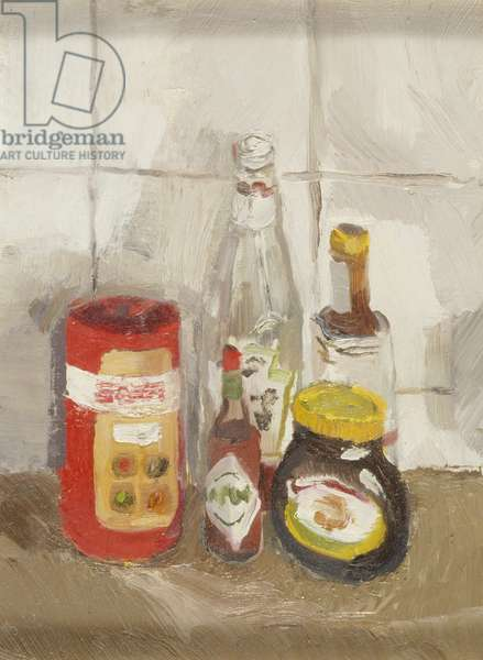 Still Life with Marmite, 2000 (oil on canvas)