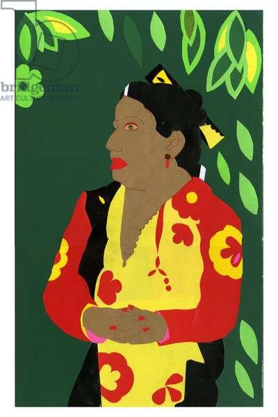 Taihiti Betsy, 2008 (collage)
