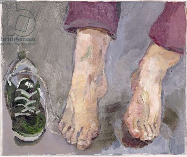Feet, 1999 (oil on canvas)