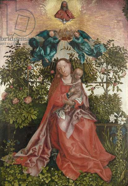 The Virgin and Child, c.1500-50 (oil on panel)