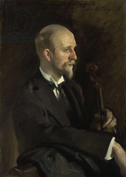 Portrait of Charles Martin Loeffler (1861-1935), 10th April 1903 (oil on canvas)