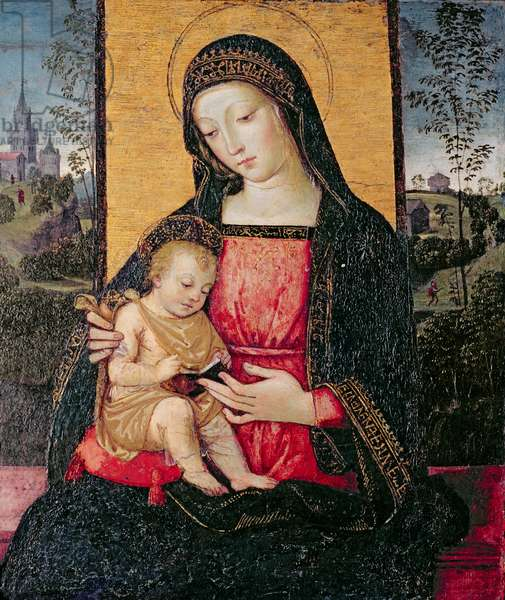 The Madonna and Child, 1490s (tempera on panel)