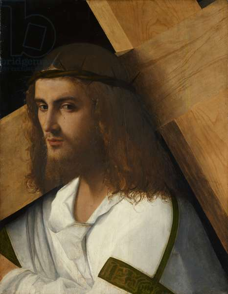 Christ Carrying the Cross, c.1505-10 (oil on panel)
