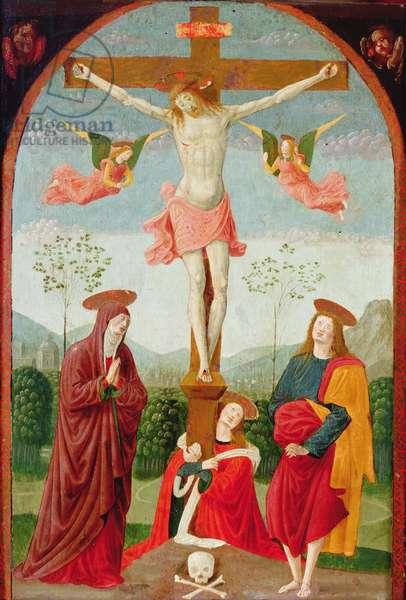 The Crucifixion, c.1525-28 (tempera & oil on panel)