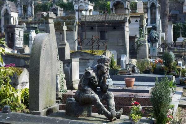 Tomb of Vaslav Nijinsky. Montmartre Cemetery, Paris, 2016 (photography)