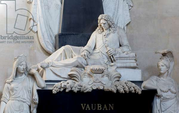 Vauban Funeral Monument (1847), Sainte Therese Chapel, Invalides (photograph)