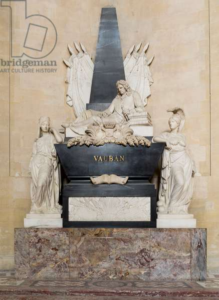 Funeral monument of Vauban, dome of the Invalides, Paris (photography)