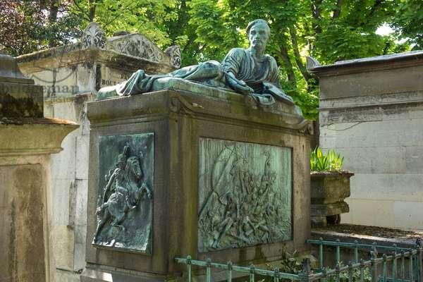 Burial of Theodore Gericault. Pere Lachaise Cemetery, Paris, 2016 (photograph)