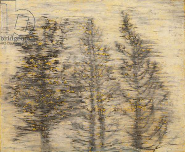 Tree, 2010 (Acrylic Color & Gesso Primer on Sliding-screen paper)