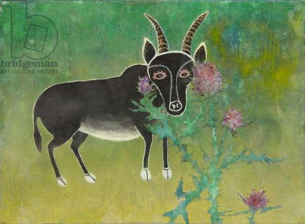 animal2, 2009 (acrylic on canvas)
