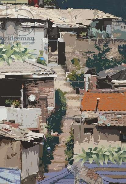 , 2011 (acrylic on canvas)