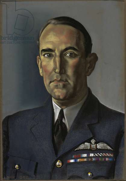 Air Vice-Marshal Arthur Coningham DSO MC DFC AFC, 1940 (pastel on paper)