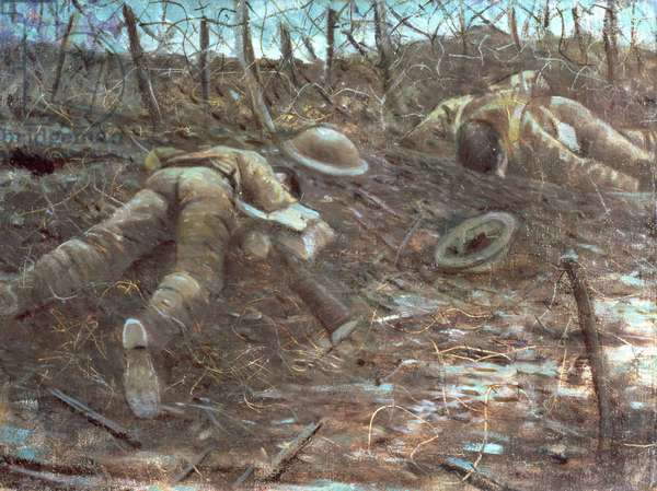 (518) Paths of Glory, 1917 (oil on canvas)