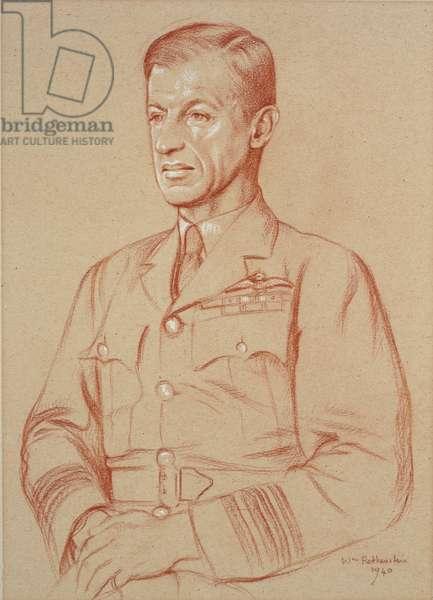 Air Marshal C.F.A. Portal, GCB, DSO, MC, 1940 (sanguine crayon)