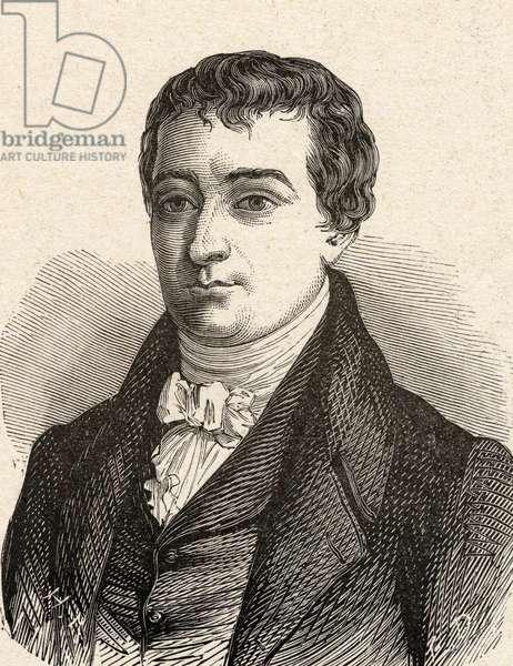 Portrait of William Hyde Wollaston, (1766-1828), British chemist and physicist.