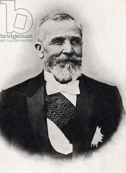 Portrait of Emile Loubet (1836-1929), President of the French Republic.