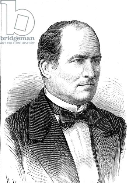Baron Georges Eugene HAUSSMANN - 1809-1891, Prefet de la Seine.Fit important renovations to the streets of Paris 1880