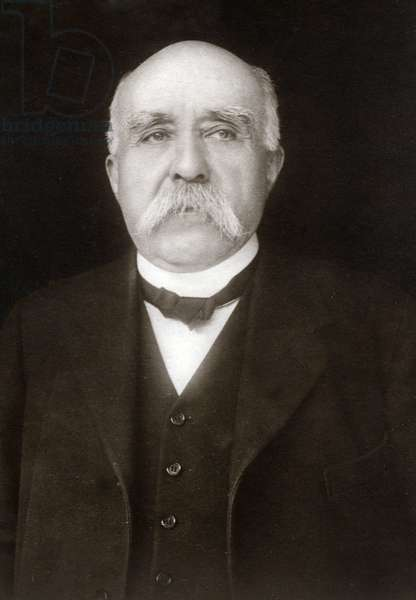 Portrait of Georges Clemenceau (1841-1929), French politician around 1915.