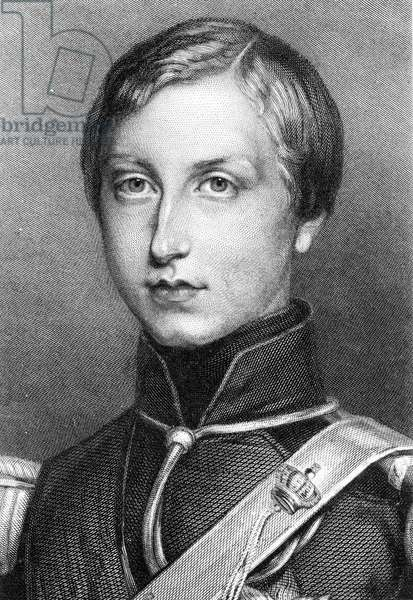 The Duke of Brabant who became King Leopold II of Belgium (1835-1909).