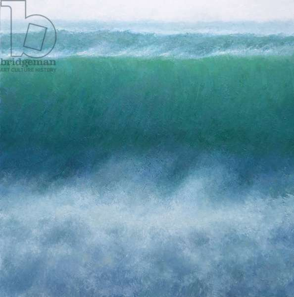 Wave, 2014, (oil on canvas)