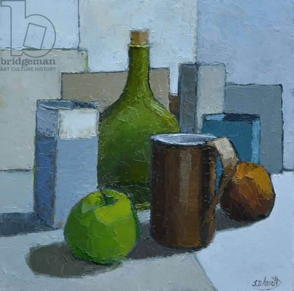 Granny Smith, 2015 (oil on canvas)