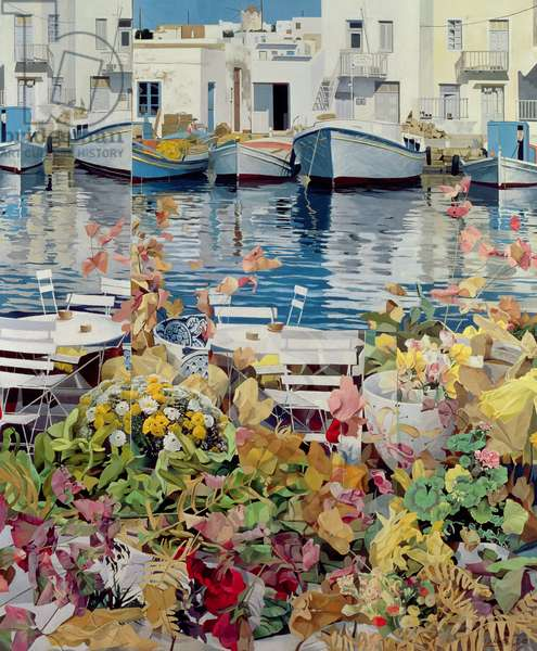 Paros, 1985 (oil on canvas)