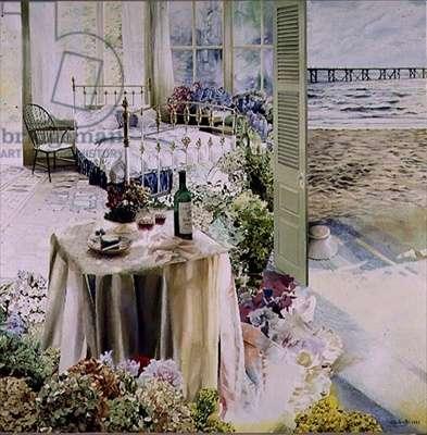Slow Tide, 1986 (oil on canvas)