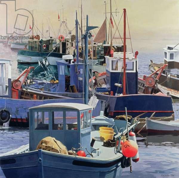 Liaisons, 1986 (oil on canvas)