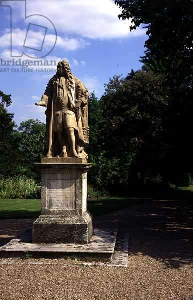 Statue of Sir Hans Sloane (1660-1753), 1732 (marble)