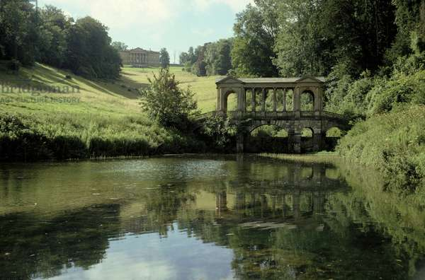 View of the Palladian Bridge and Mansion, from the North (photo) (see also 13780-81)